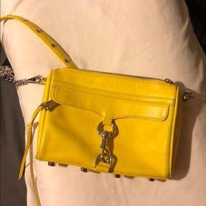Rebecca minkoff crossbody yellow